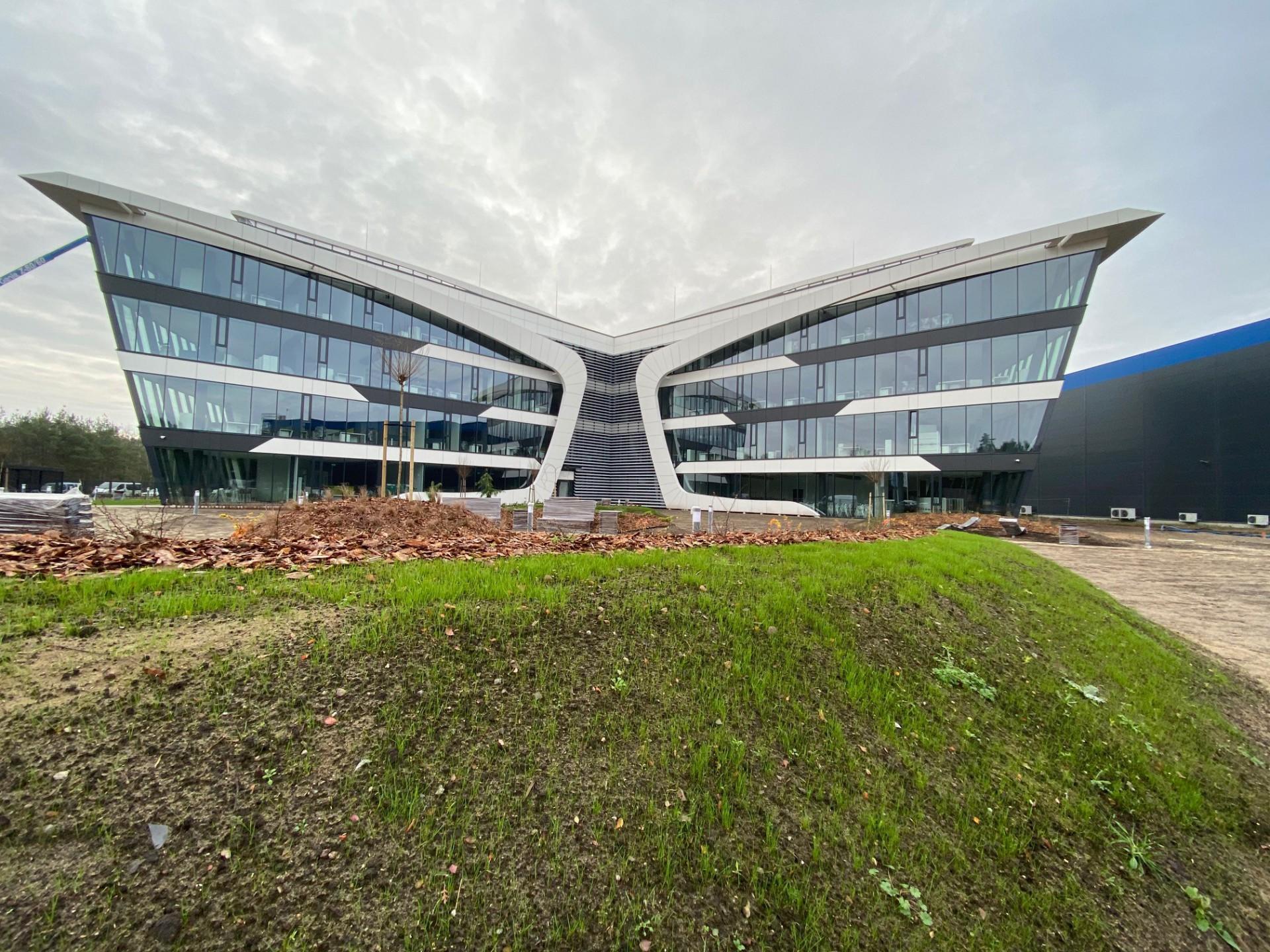 Budowa Nowej Centrali Neuca – III etap inwestycji